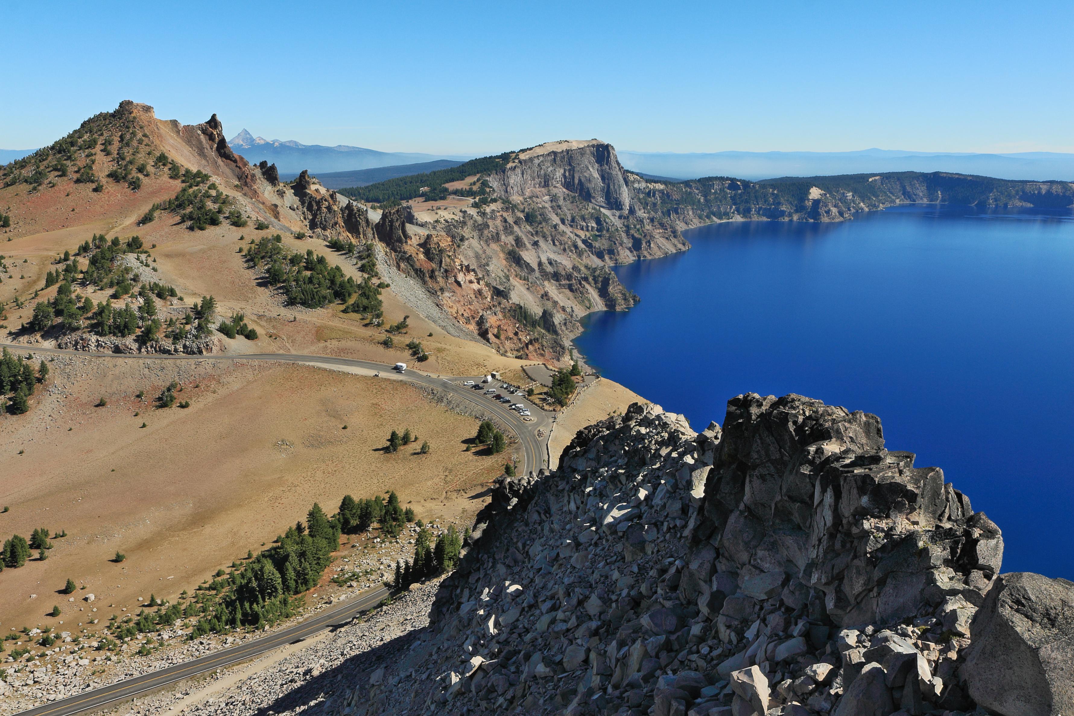 Elevation Of Crater Lake National Park Oregon United States - Us map crater lake
