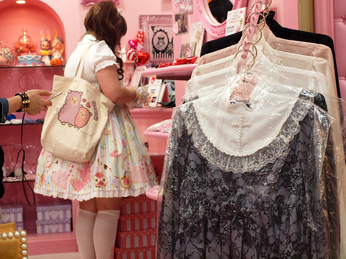Shopping at Angelic Pretty
