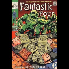 Is it too much to ask if a guy wants to sleep in on a Saturday? #Kirby #FantasticFour #comics