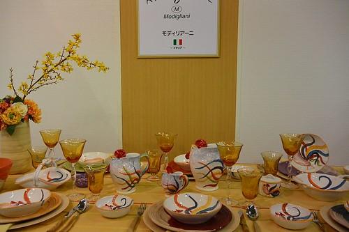 テーブルウェア10モディリアーニ