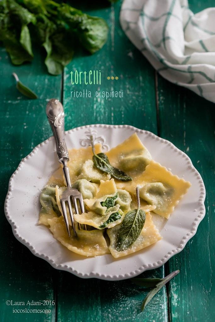 tortelli di ricotta e spinaci