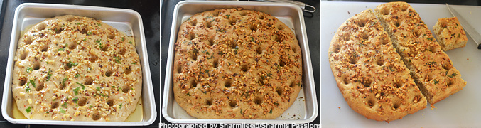 How to make Whole Wheat Garlic Focaccia Recipe - Step5