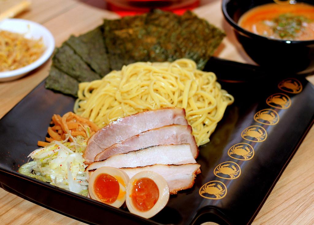 ramen keisuke kani king crab dipping noodles tsukemen
