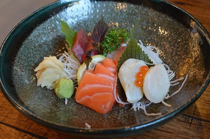 Entrée sashimi
