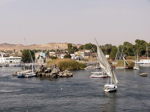 2015 Ägypten - Assuan - Stadt