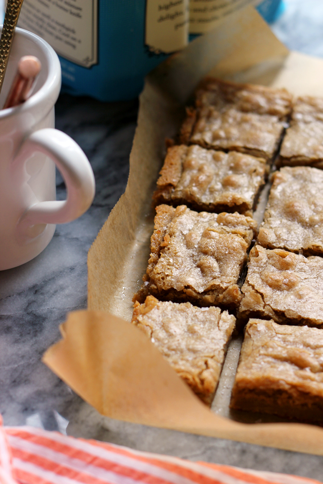 Salted Butterscotch Blondies