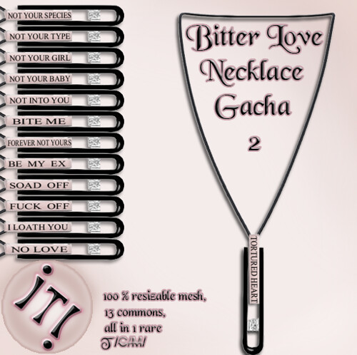!IT! - Bitter Love Necklace 2 Image