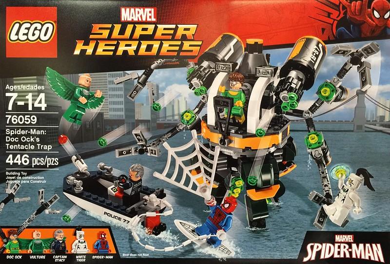 LEGO Super Heroes 2016: 76059 - Spider-Man: Doc Ock's Tentacle Trap