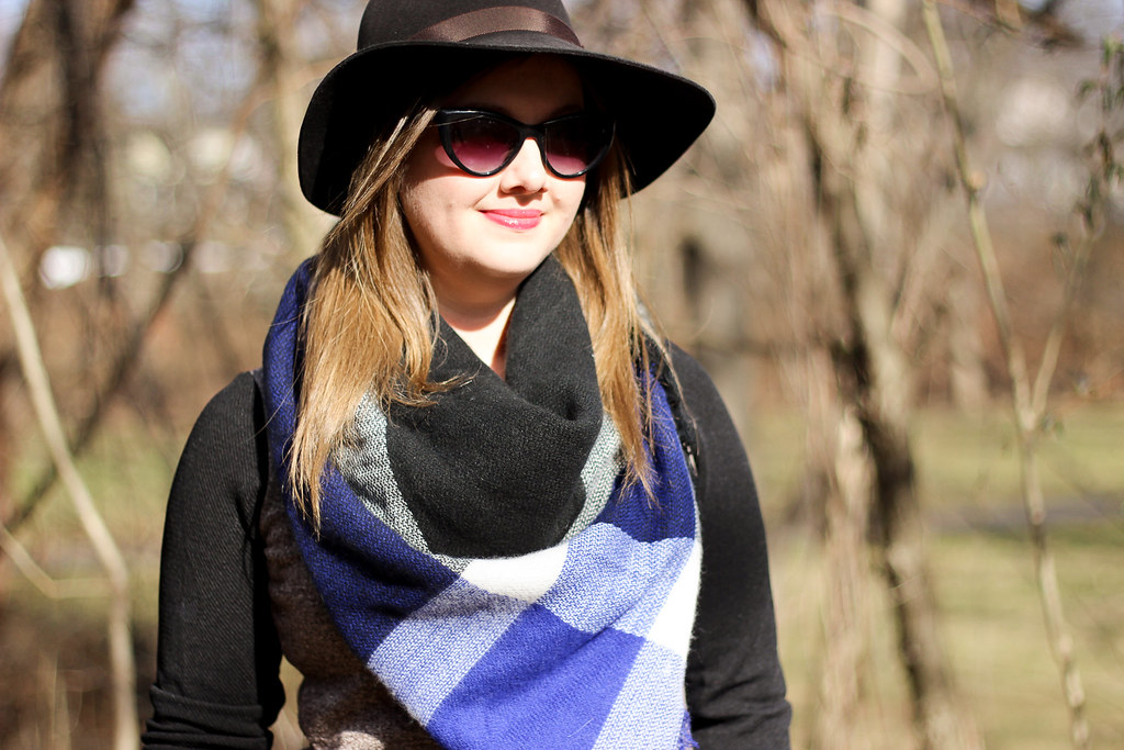 New Chic Tunic and Blanket Scarf-1-5