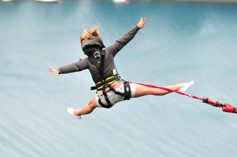 Queenstown Bungy Jumping For Hens Party - Be Brave  Just Do It - Gobananas-6345