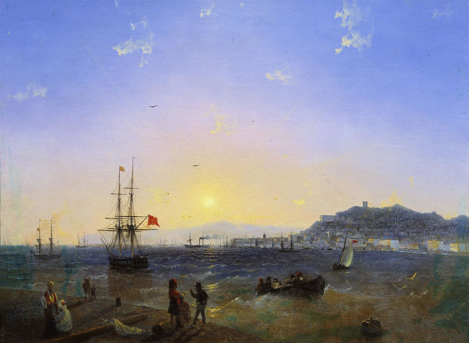 Kerch by Ivan Aivazovsky, 1839