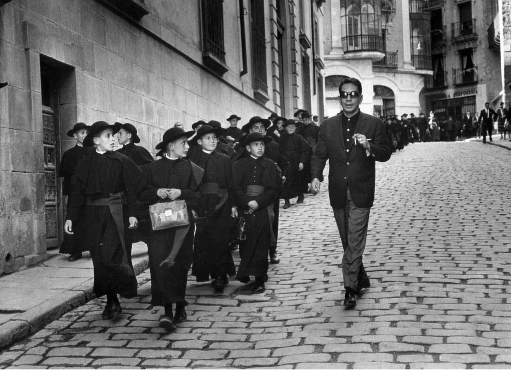 Cantinflas en Toledo en 1959. Fotografía de Gerard Decaux