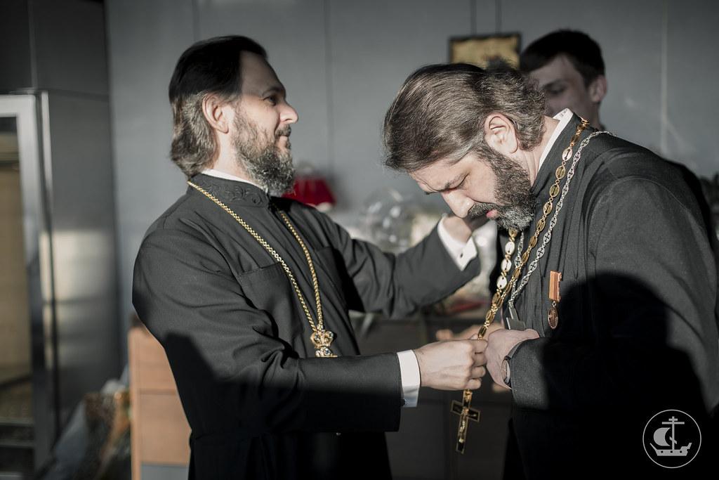 7 апреля 2016, 50 лет протоиерею Михаилу Браверману / 7 April 2016, The fiftieth anniversary of Archpriest Mikhail Braverman