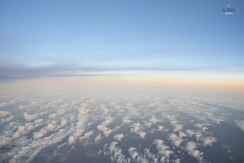 china sea cloud sunrise flying south bluesky 日出 中南海 飞行