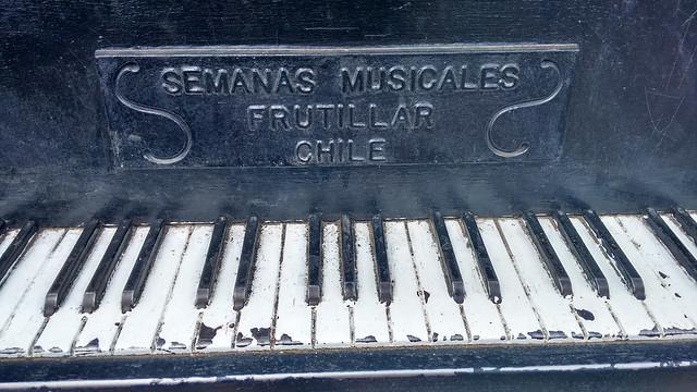 Semanas Musicales Promo Piano in Frutillar, Chile
