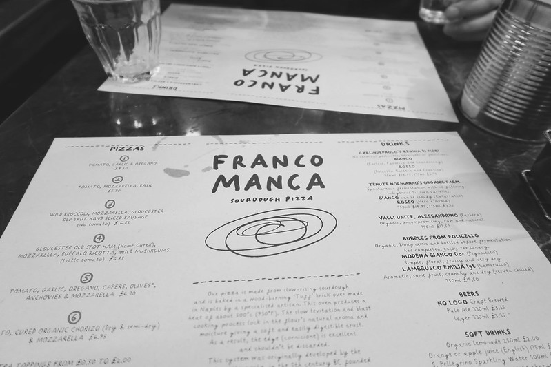 Franco Manca Bermondsey Review