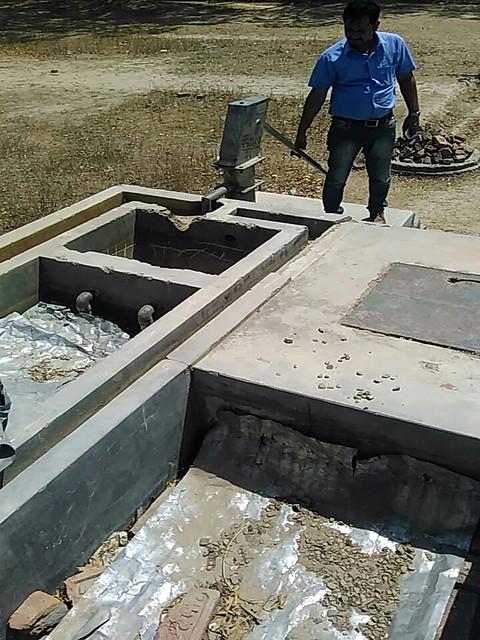 रामगाँव यूपीएस में खराब पड़ी आर्सेनिक शोधक पानी की टंकी