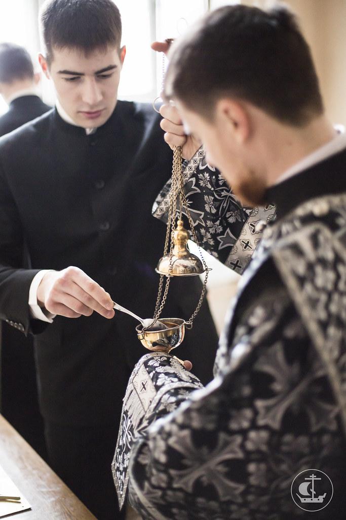 16 марта 2016, Среда Первой седмицы Великого поста. Утро / 16 March 2016, Wednesday of the 1st Week of Great Lent. Morning