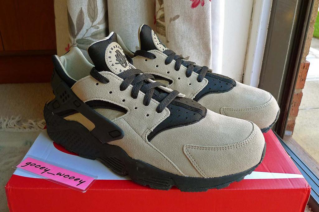 meet c9a48 c3f93 ... Nike Air Huarache Flint Spin  Black (318429 204) (14