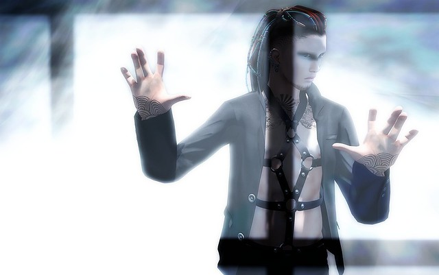 A&Y Dext Cyber Hair (Male) @Epicene Fashion Event