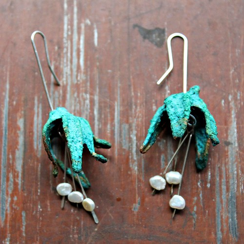 VERSO Jewelry Moss Earrings