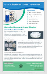 Activated Alumina For Gas Generation
