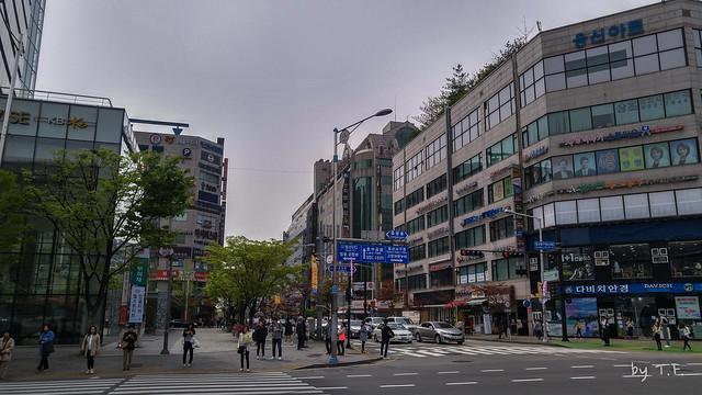 일산 동구청 사거리