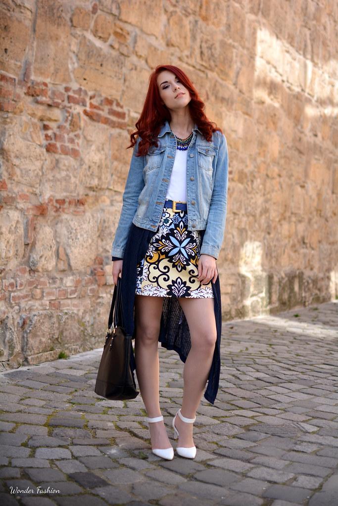 pucci print skirt3
