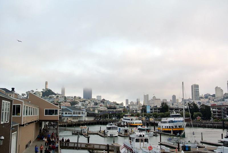 Vista desde el muelle 39 en San Francisco #JFashionblog