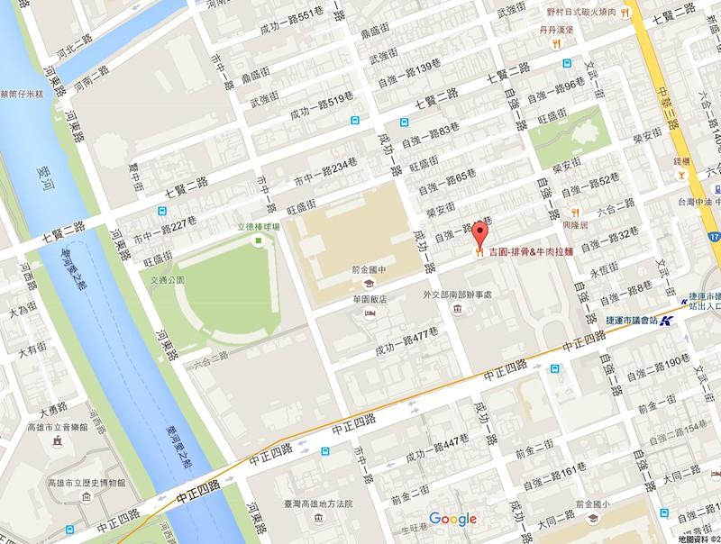 吉園紅燒排骨地圖