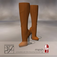 Snowpaws - Dictata Mesh Boot - Caramel