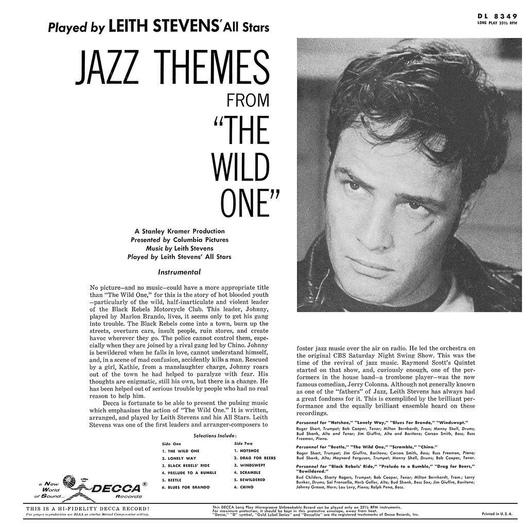 Leith Stevens - Jazz Themes from The Wild One