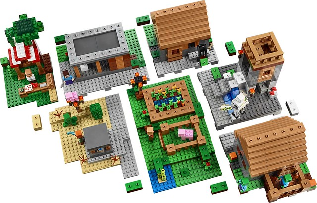LEGO Minecraft 21128 The Village 05