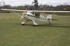 G-BTFK Popham Taylorcraft BC-12D