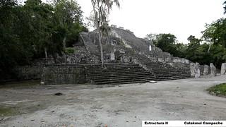 Bild von Calakmul. méxico mexico campeche calakmul estructuraii