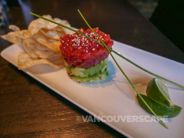The Keg Yaletown Ahi tuna tartare