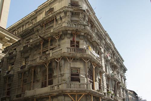 Havanna baufälliges bewohntes Haus