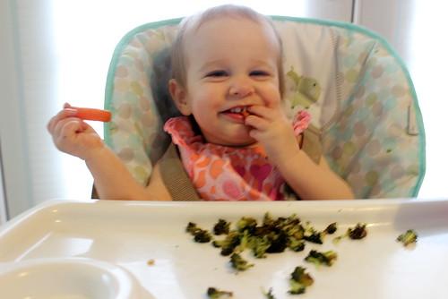 Eating Carrots & Broccoli