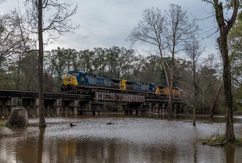 Flooded, Brewton, Alabama, G993