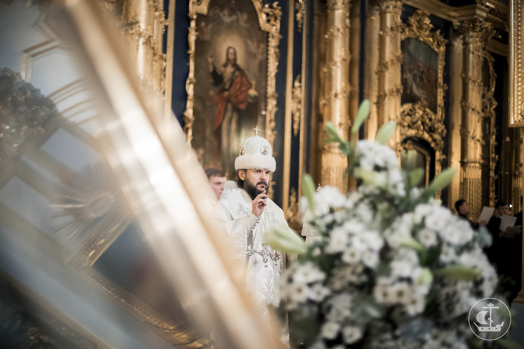 18 января 2016, Всенощное бдение в Николо-Богоявленском морском соборе / 18 January 2016, All-night Vigil in the St. Nicholas Naval Cathedral