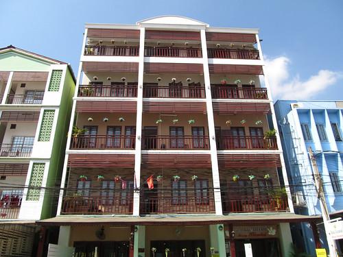 Vientiane: notre guesthouse