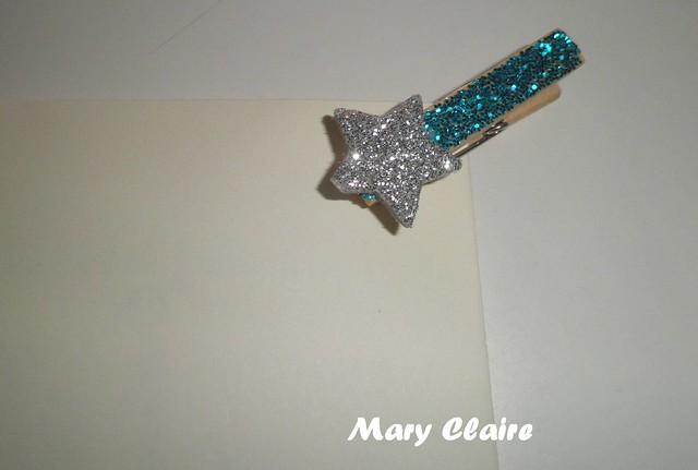 mollettina azzurra con stella