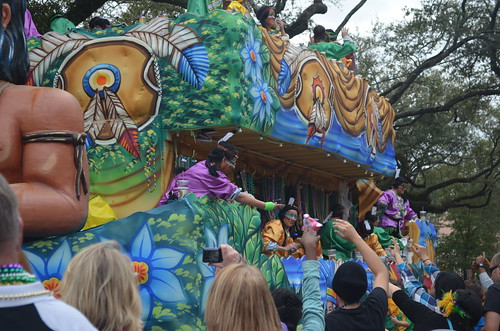 Choctaw float