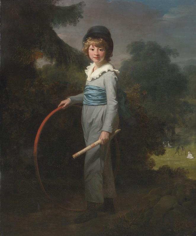 Henri-Pierre Danloux - Portrait of Henry John Lambert