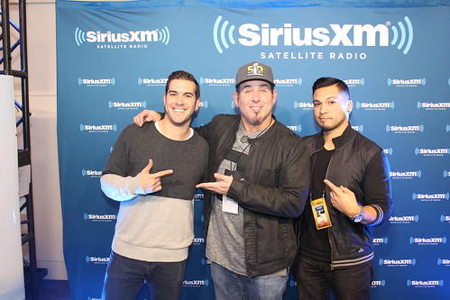 Comedian Craig Gass with Covino & Rich
