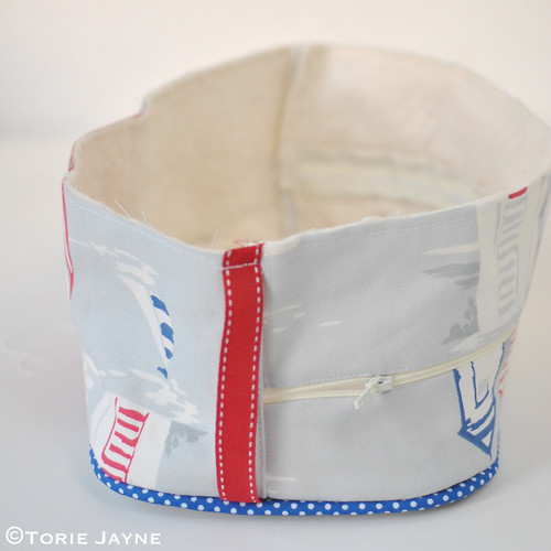 Boys Piped Wash Bag Tutorial 11