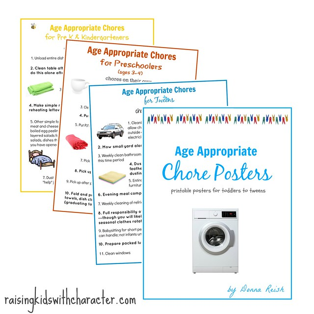 Age Appropriate Chore Series
