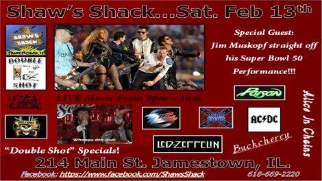 Shaw's Shack 2-13-16