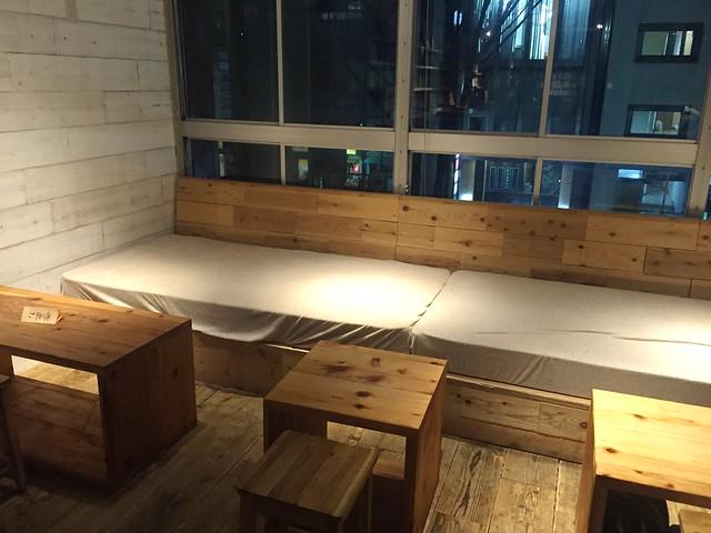 森の図書室 ソファ席