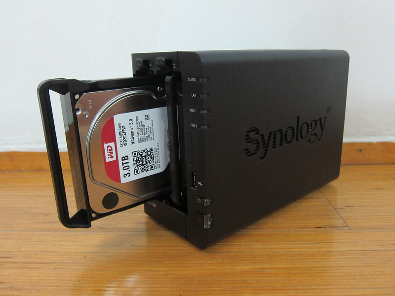 Synology DiskStation DS216+ - With HDD